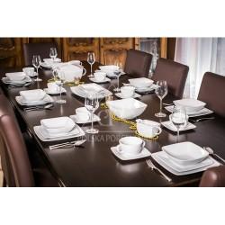 LUBIANA VICTORIA Serwis obiadowy 12 osób-44 elementy